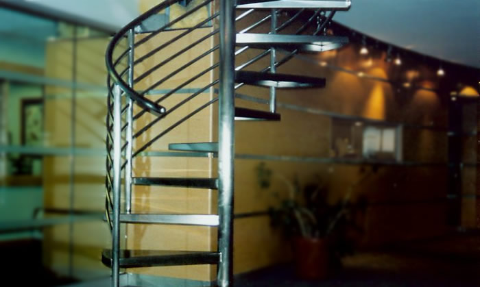 MetalWorks Spiral Staircase Banner Image